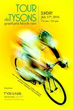 Tour de Tysons Poster